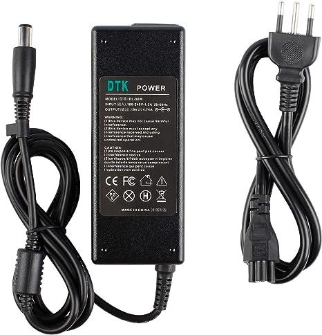 Alimentatore caricabatterie adattatore per portatile HP COMPAQ CQ62