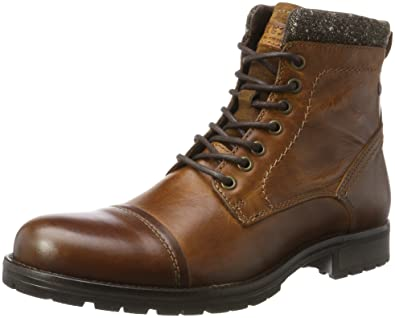 Stiefel Jackamp; Jfwmarly Leather Jones Cognac Herren Klassische LjMpVGUzSq