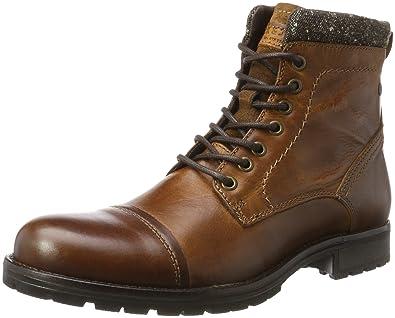 Mens Jfwmarly Leather Cognac Classic Boots Jack & Jones HA4duTFqJo