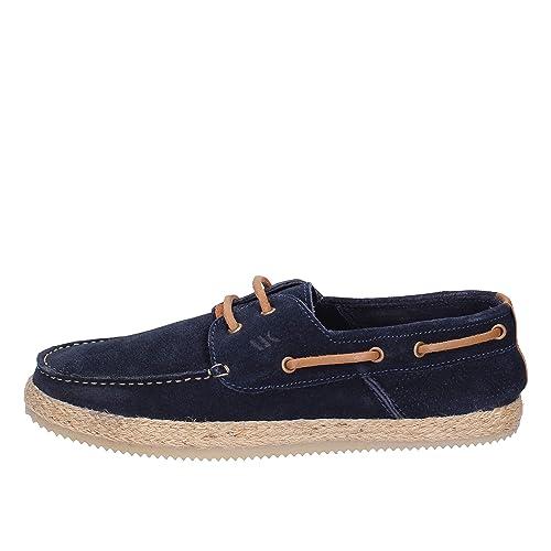 LUMBERJACK Mocasines Hombre Gamuza Azul 41 EU: Amazon.es: Zapatos y complementos