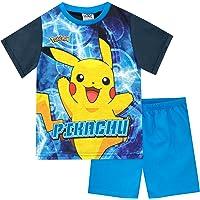 Pokèmon Pijamas de Manga Corta para niños Pikachu