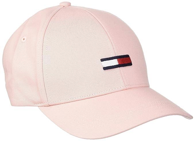 Tommy Hilfiger Tjw Flag Cap, Gorra de béisbol para Mujer, Rosa (Silver Pink 655), única (Talla del Fabricante: OS): Amazon.es: Ropa y accesorios