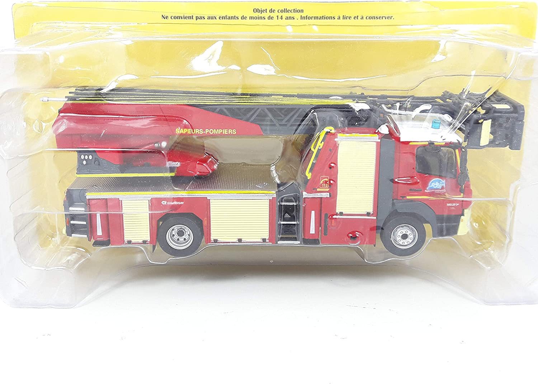 Desconocido 1//43 CAMION Truck Bomberos POMPIERS Mercedes ATEGO 1627 F HACHETTE