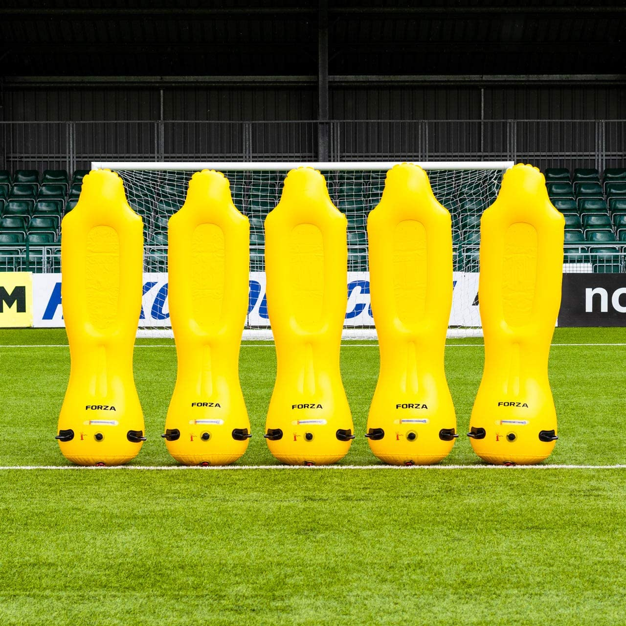 barreras de fútbol hinchables para entrenamientos