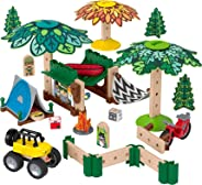 Wonder Makers Campamento De Aventuras, Juguete De Diseño y Construcción Para Preescolar, Incluye más de 60 piezas