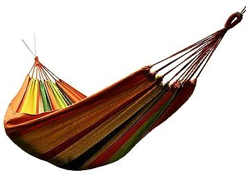 amazon    honesh outdoor leisure double 2 person cotton hammocks 450lbs ultralight camping hammock  sports  u0026 outdoors amazon    honesh outdoor leisure double 2 person cotton hammocks      rh   amazon