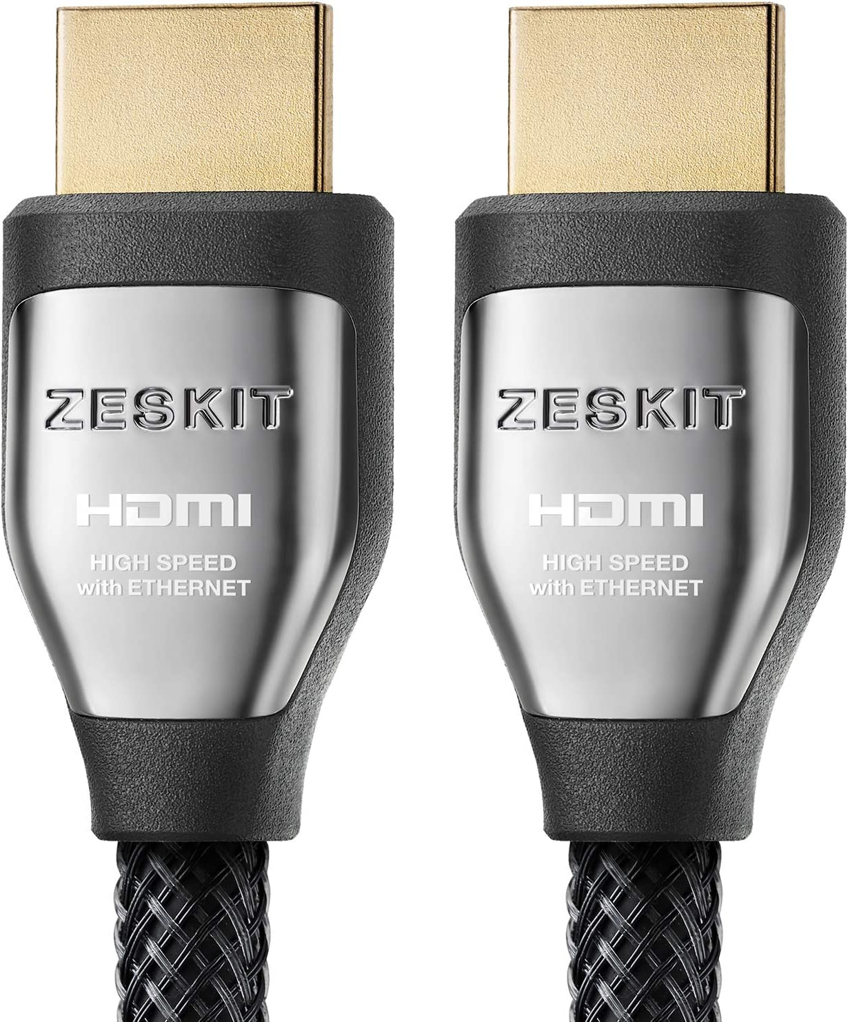 4K HDR HDMI Cable 3ft Cinema Plus 28AWG 4K 60Hz HDR 4:4:4 HDCP 2.2 Exceed 22.28 Gbps HDMI 2.0 Compatible with Xbox PS4 Pro nVidia AMD Apple TV 4K Roku Fire TV Netflix LG Sony Samsung