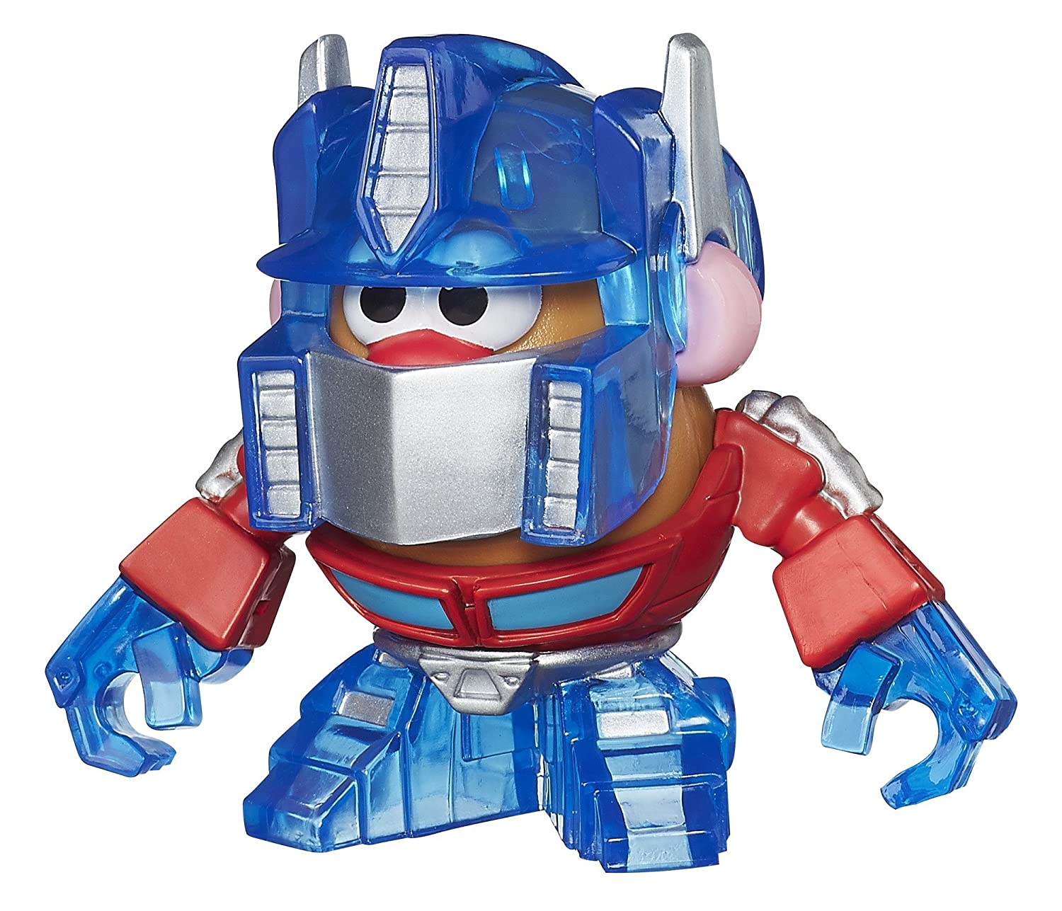 TRANSFORMERS? ROLL OUT!: optimus prime voice changer helmet