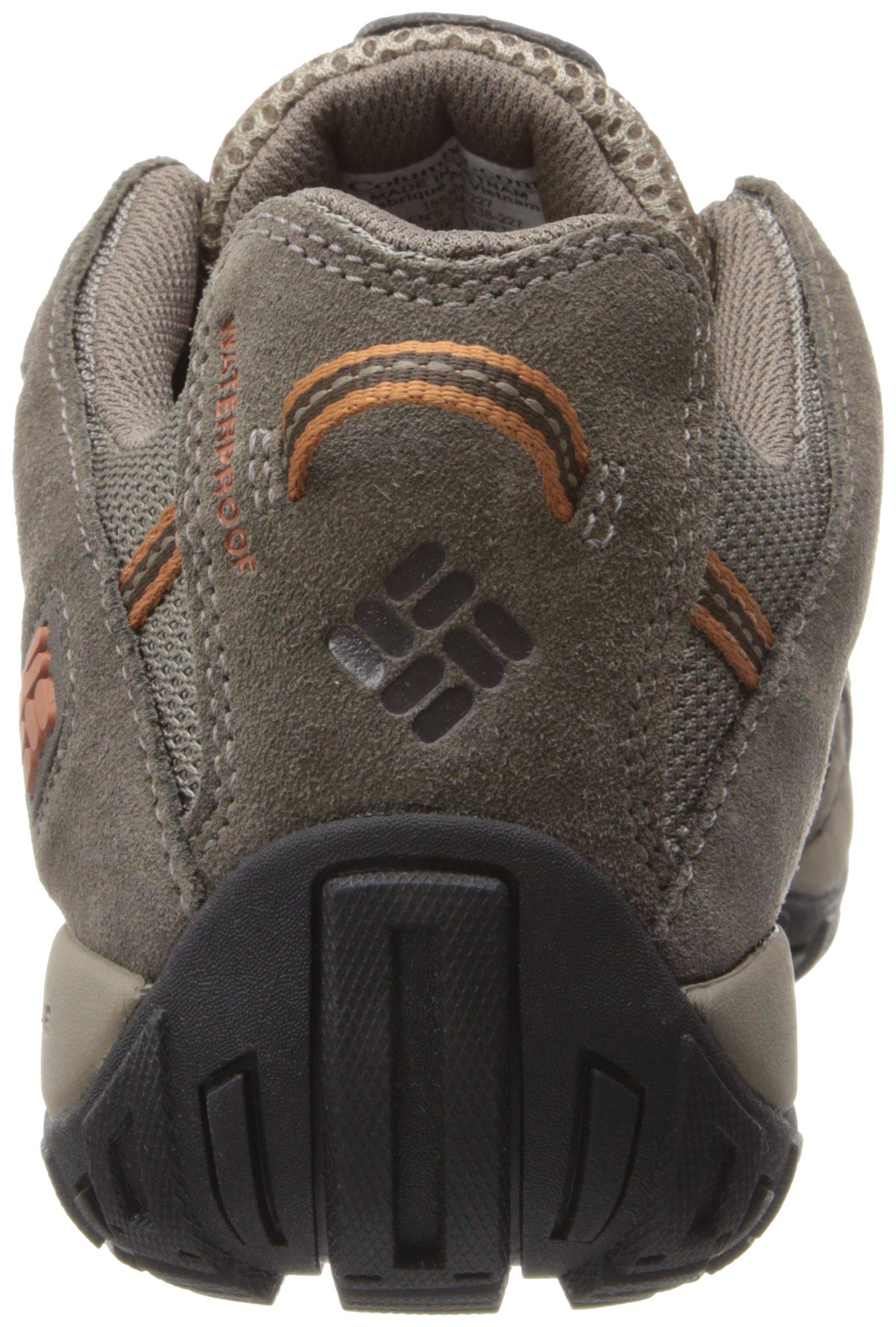 Columbia Men's Redmond Waterproof Hiking Shoe Pebble, Dark Ginger 7 D US by Columbia (Image #2)