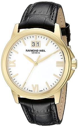 a19e0e45c Amazon.com: Raymond Weil Men's 5476-P-00307 Analog Display Quartz ...