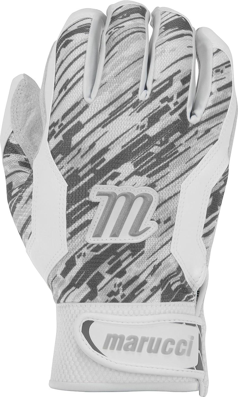 Marucci大人用Quest野球バッティンググローブ B01LEJWYHM Medium|グレー グレー Medium