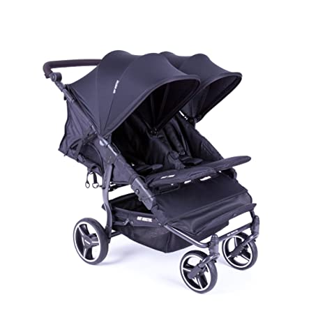 NUEVA Silla Gemelar Easy Twin 3.0.S con capota normal de paseo Baby Monsters -