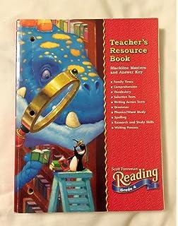 Reading 2000 spelling workbook grade 4 scott foresman reading teachers resource book blackline masters and answer key scott foresman reading grade fandeluxe Images