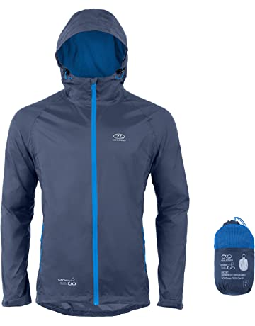 bc3f670a8 Waterproof Packaway Jacket by Highlander - Lightweight Rain Coat with Sizes  Available for Men Women and