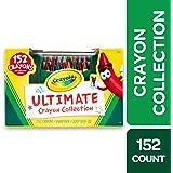 Crayola 绘儿乐 Ultimate蜡笔系列 152支套装,上色工具,款式可能有所不同,礼品