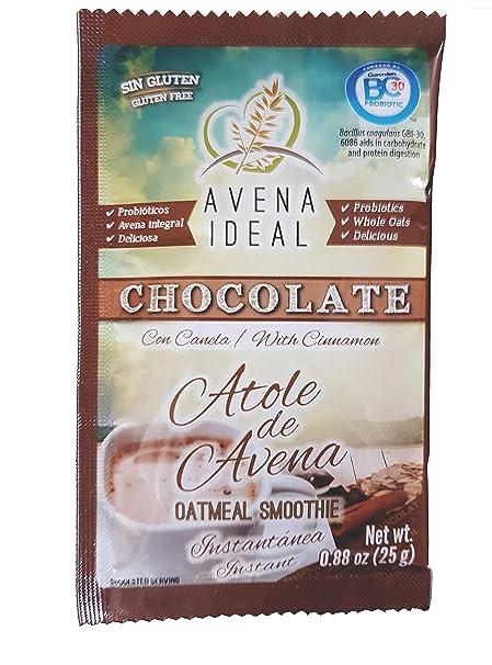 Avena Ideal Oatmeal Smoothie, Cinnamon, Gluten Free Oats, Vegan, 12 count