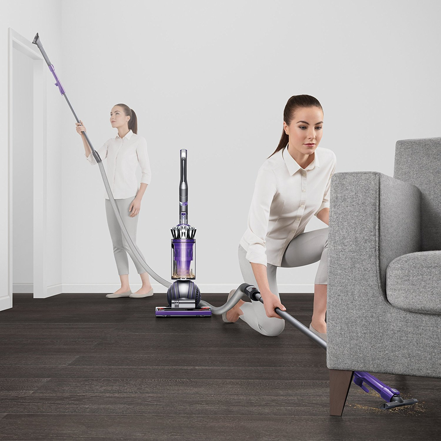 Dyson Ball Animal 2 Upright Vacuum, Iron/Purple (Certified Refurbished) by Dyson (Image #6)