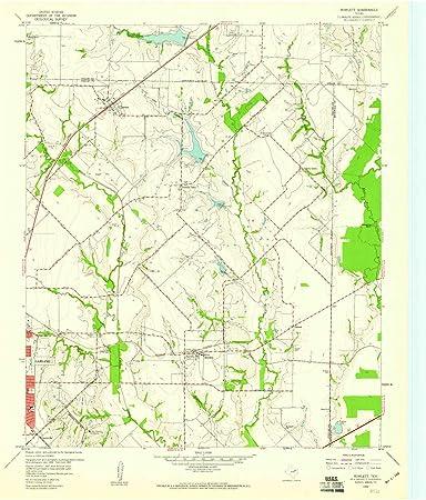 Amazon Com Yellowmaps Rowlett Tx Topo Map 1 24000 Scale