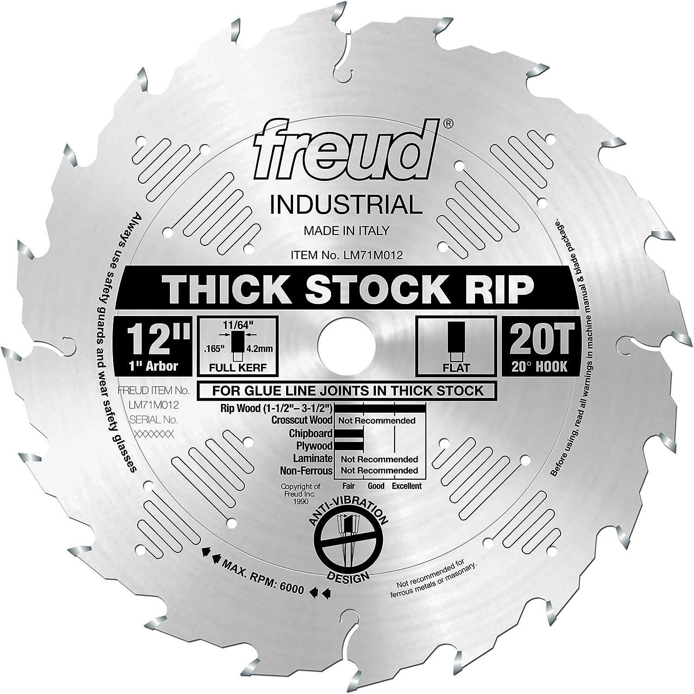 "Freud LM72M010 10/"" x 24 Tooth Flat Carbide Industrial Rip Blade 4x New"