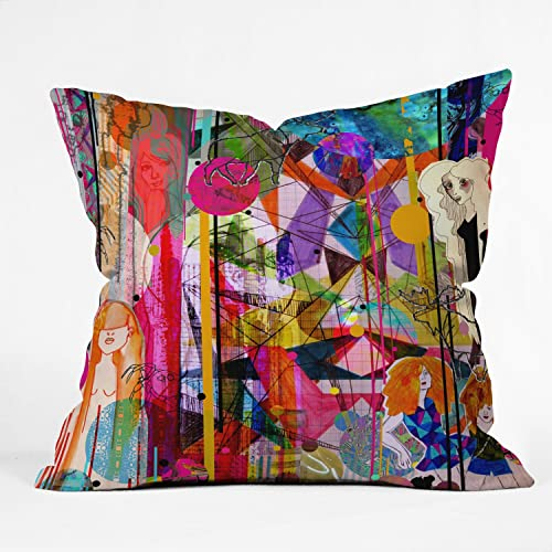 Deny Designs Aimee St Hill Illustration Throw Pillow, 26 x 26