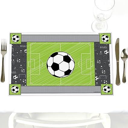 Amazon.com: goaaal. – Fútbol – Bebé Ducha o fiesta de ...