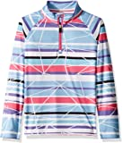 Spyder Girls' Limitless Ribbon Dancer Half Zip T-Neck Shirt
