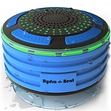 Shower Radios - Hydro-Beat Illumination. IPX7 portable ...