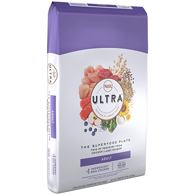 Nutro Ultra Dry Dog Food – The Best Food with All-Natural and Non-GMO Components