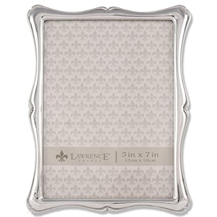Amazon.com - Lawrence Frames 710257 Silver Metal Romance Picture ...