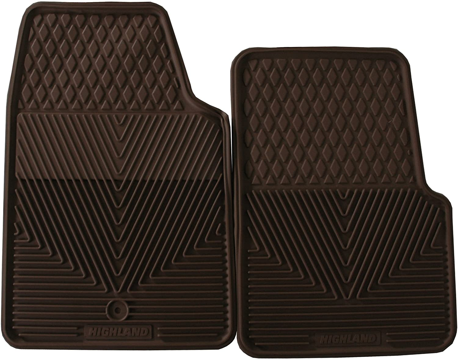 Highland 4602300 All-Weather Black Front Seat Floor Mat Highland Group