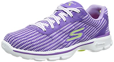 Go Walk 3 Fit Knit Womens Low-Top Sneakers Skechers XUocslxmH