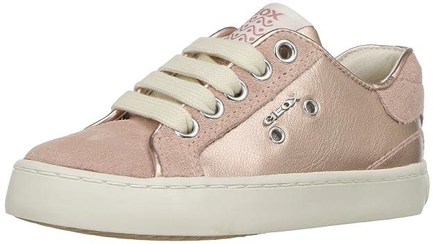Geox Mädchen JR Ciak Girl B Hohe Sneaker, Pink (Pink), 30 EU