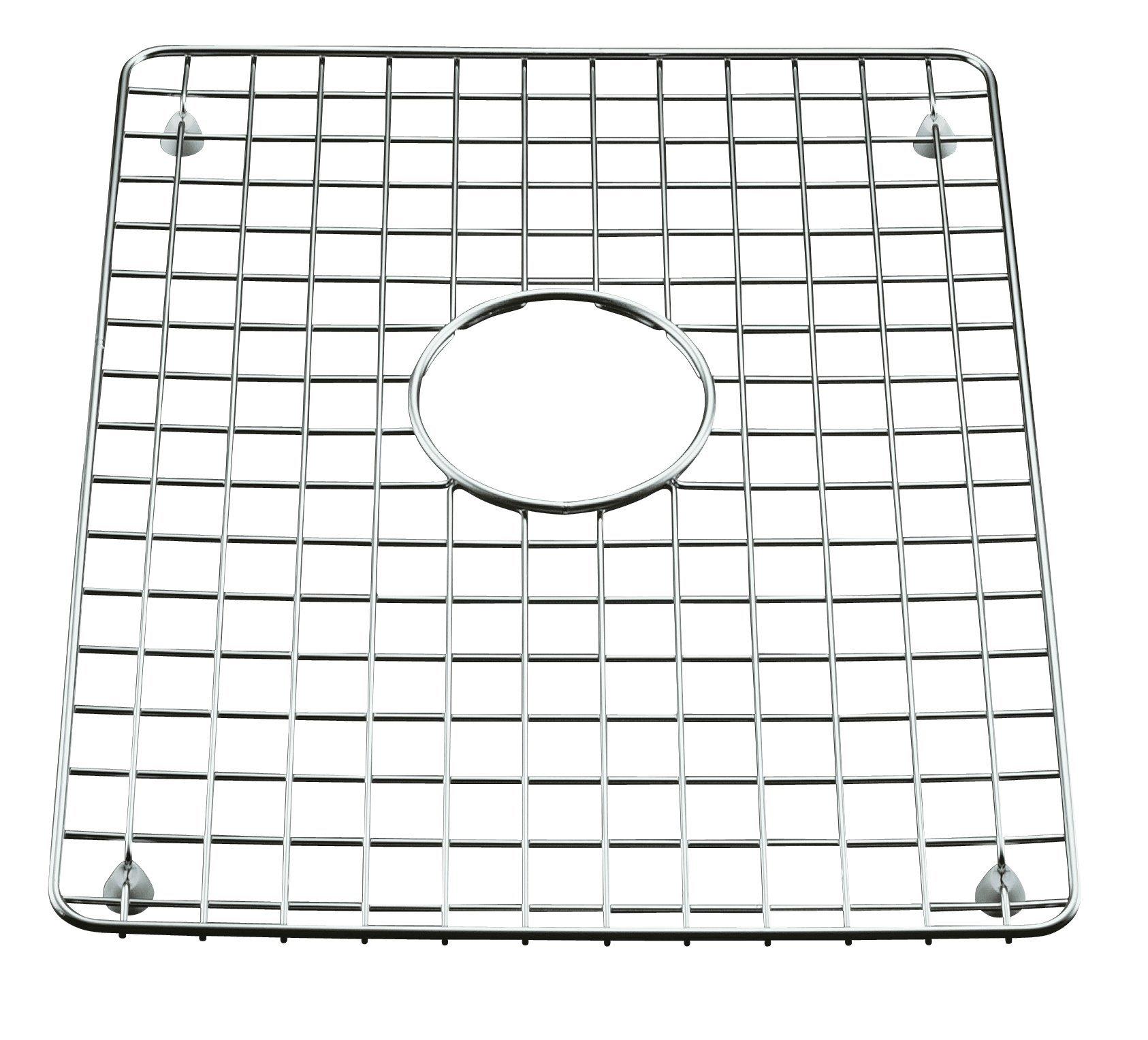 KOHLER K-6057-ST Clarity Bottom Basin Rack, Stainless Steel