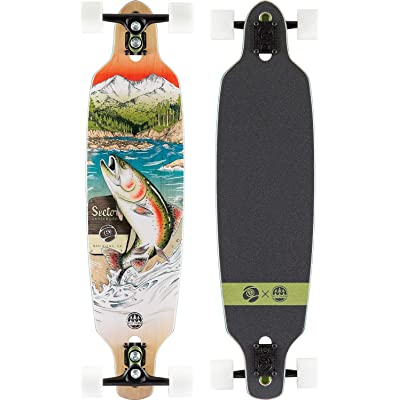 Sector 9 Tackle Fractal Complete Longboard : Sports & Outdoors