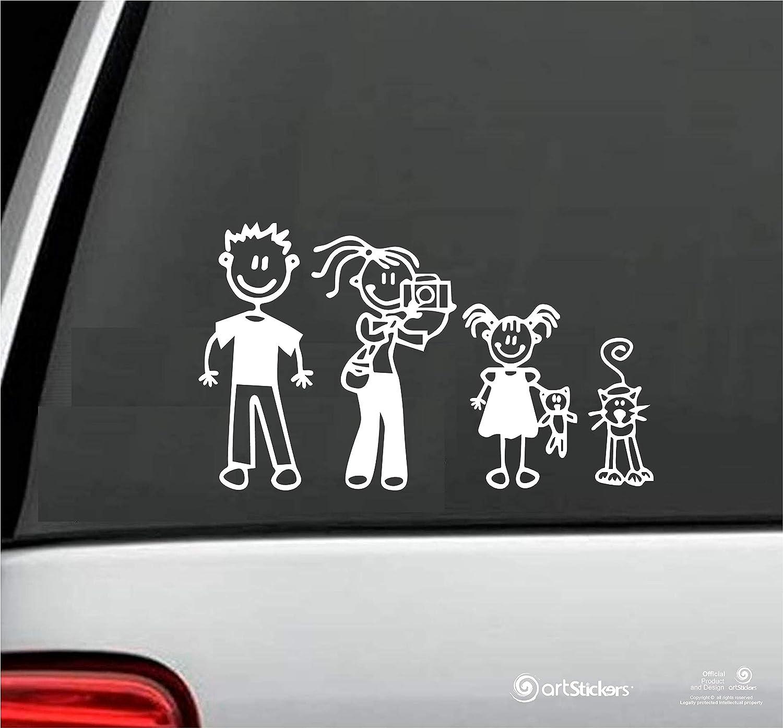 Arstickers. Pack de Adhesivos Familia a Bordo. Pegatinas Familia ...