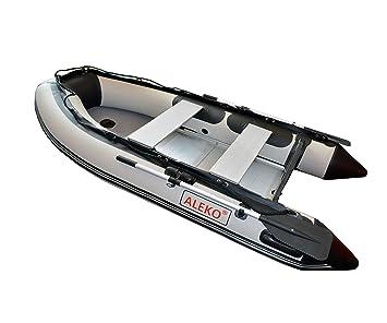 Aleko® inflable Gray Barco 13,8 patas aluminio Suelo 7 ...