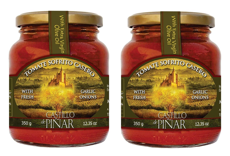Amazon.com : Castillo de Piñar 1235 oz 3-PACK: Tomate Sofrito Casero Sauce Non GMO : Grocery & Gourmet Food
