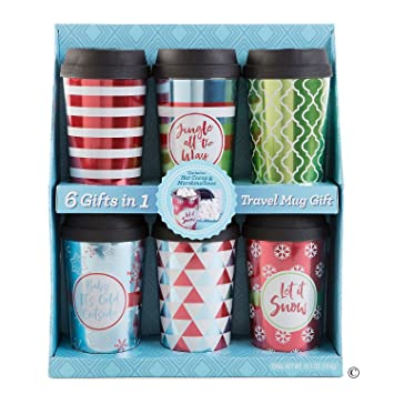 amazon com wine country gift baskets travel mug gift set blue