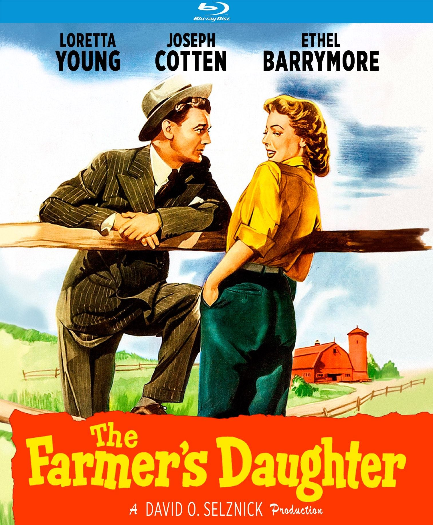 Blu-ray : The Farmer's Daughter (Blu-ray)