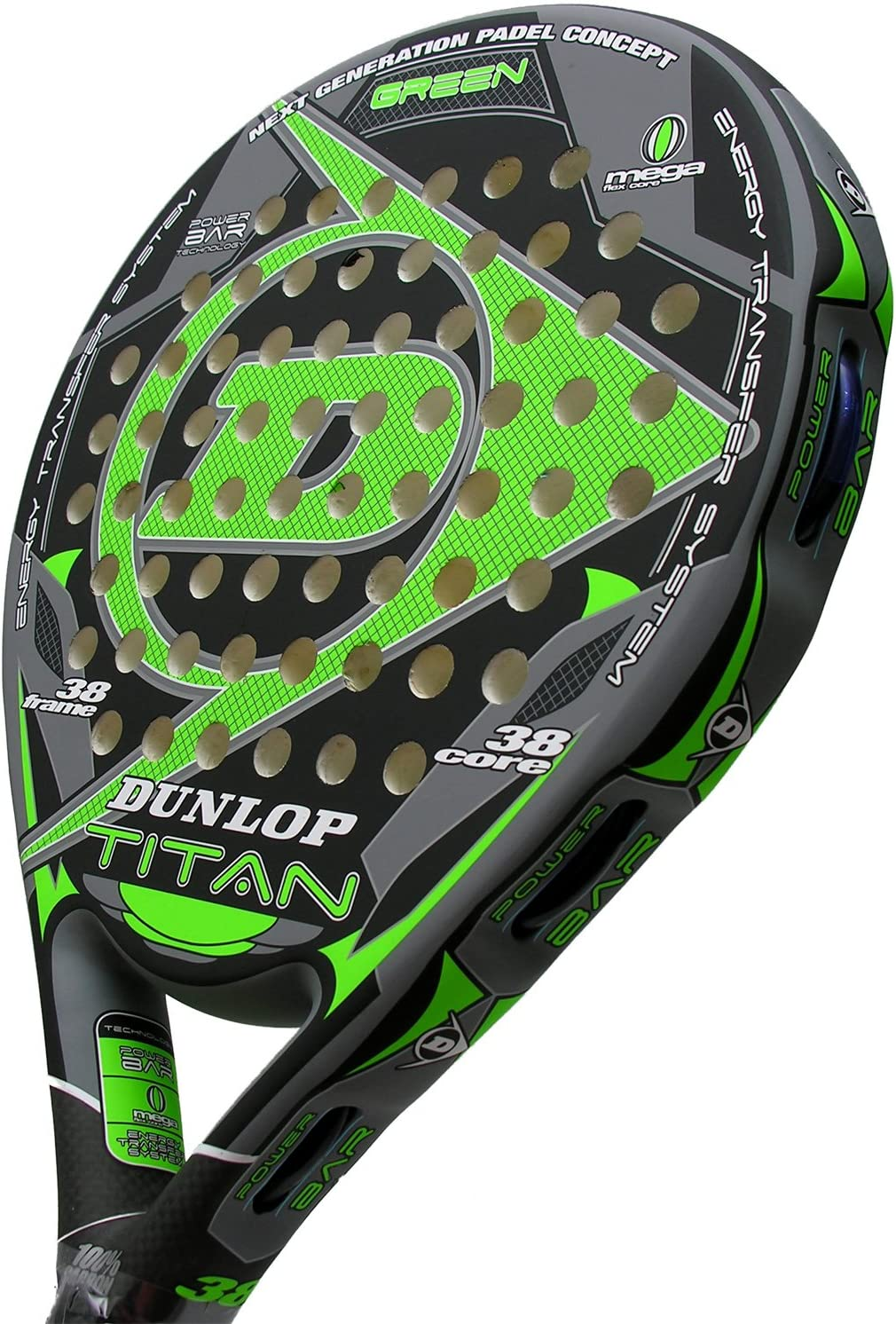 Dunlop - Pala de pádel Titan, Verde (Green) : Amazon.es: Deportes ...