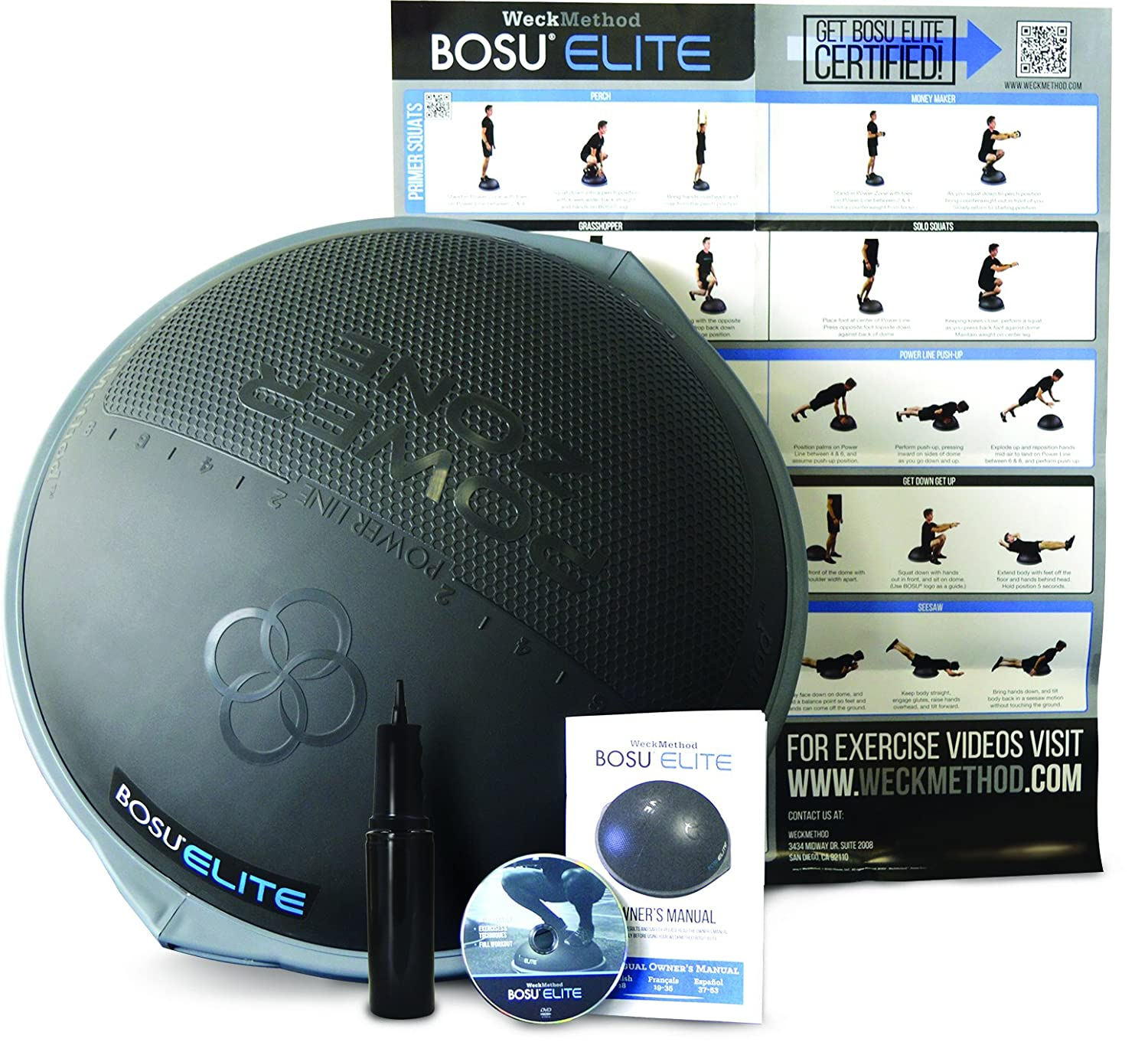Bosu Ball Best Price: Best Half Ball Balance Trainers 2017