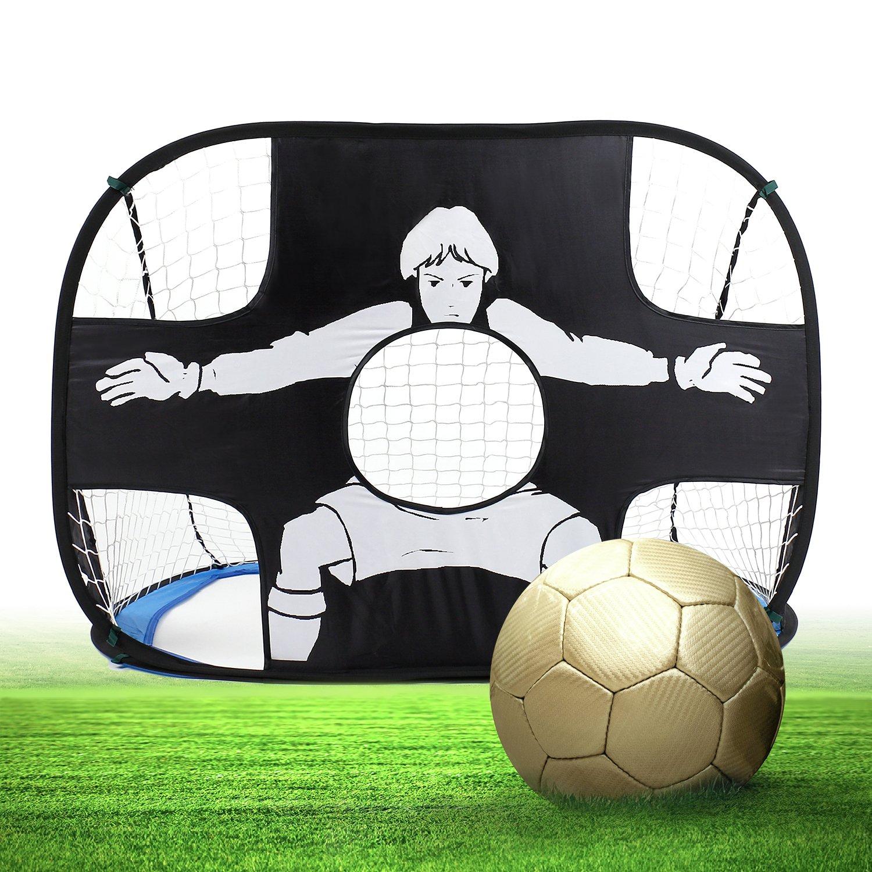 springbuds Pop Up Kids Soccer GoalポータブルKids Soccer Netキッズ用サッカーターゲットwith Carryバッグ、Perfect forインドア&アウトドアスポーツand Practice B076HLTJPW