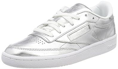 3479fe46f343f Reebok Gri Kadın Tenis Ayakkabısı CM8686 Club C 85 S Shine 40 ...