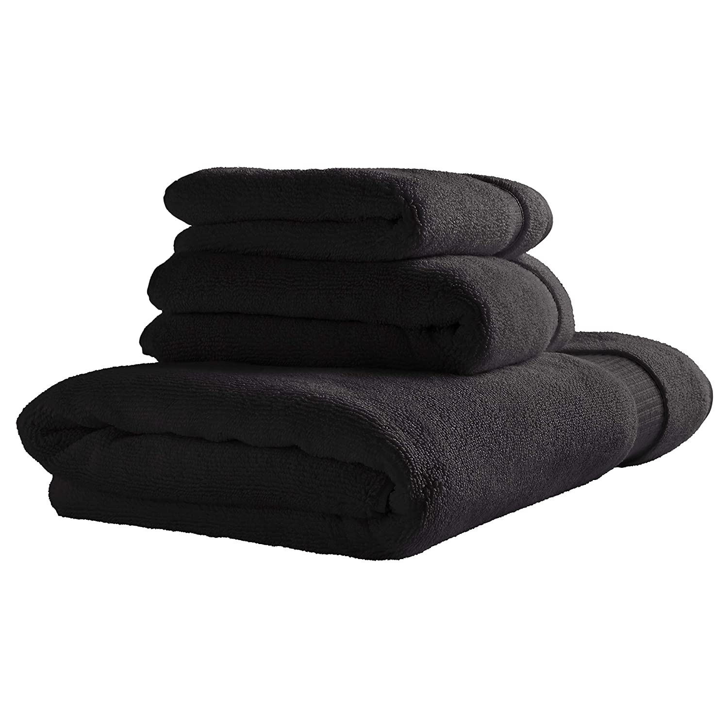 Rivet - Black Luxury Bath Towels