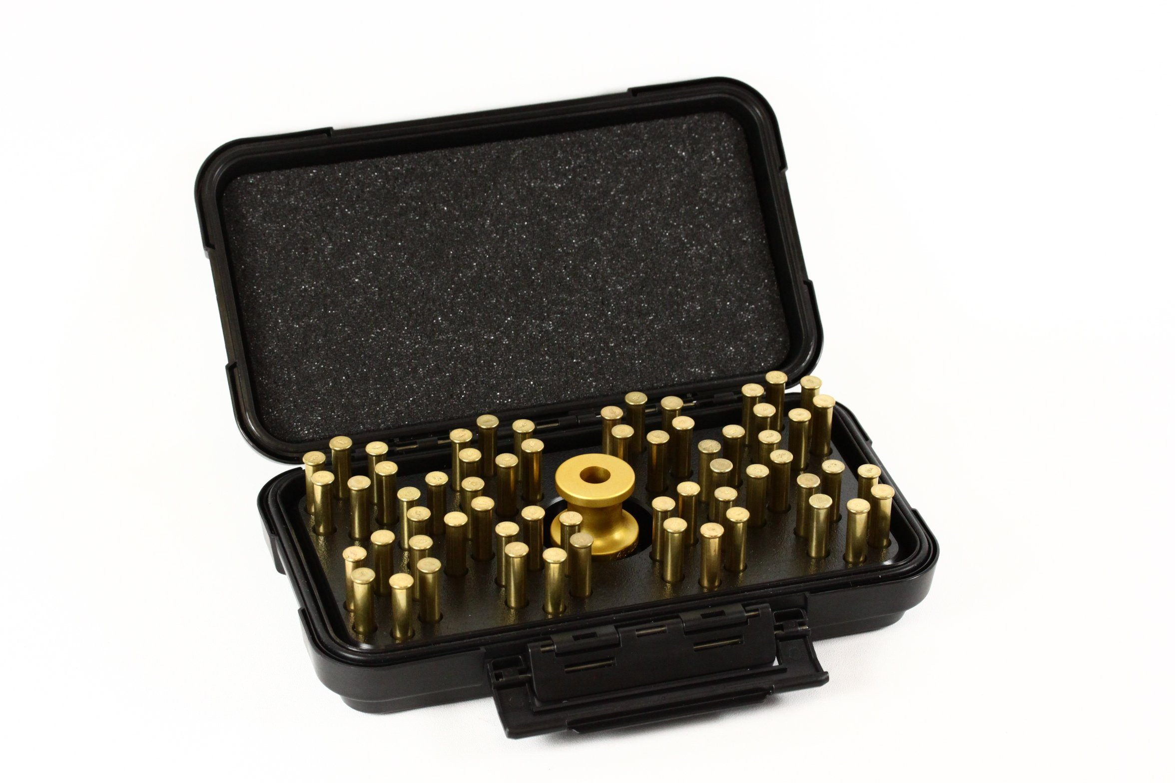Speed Beez K Frame 22 Magnum 6 Shot Loading Block and Case Speed Loader Bundle for The Smith & Wesson Model 48 648 by Speed Beez