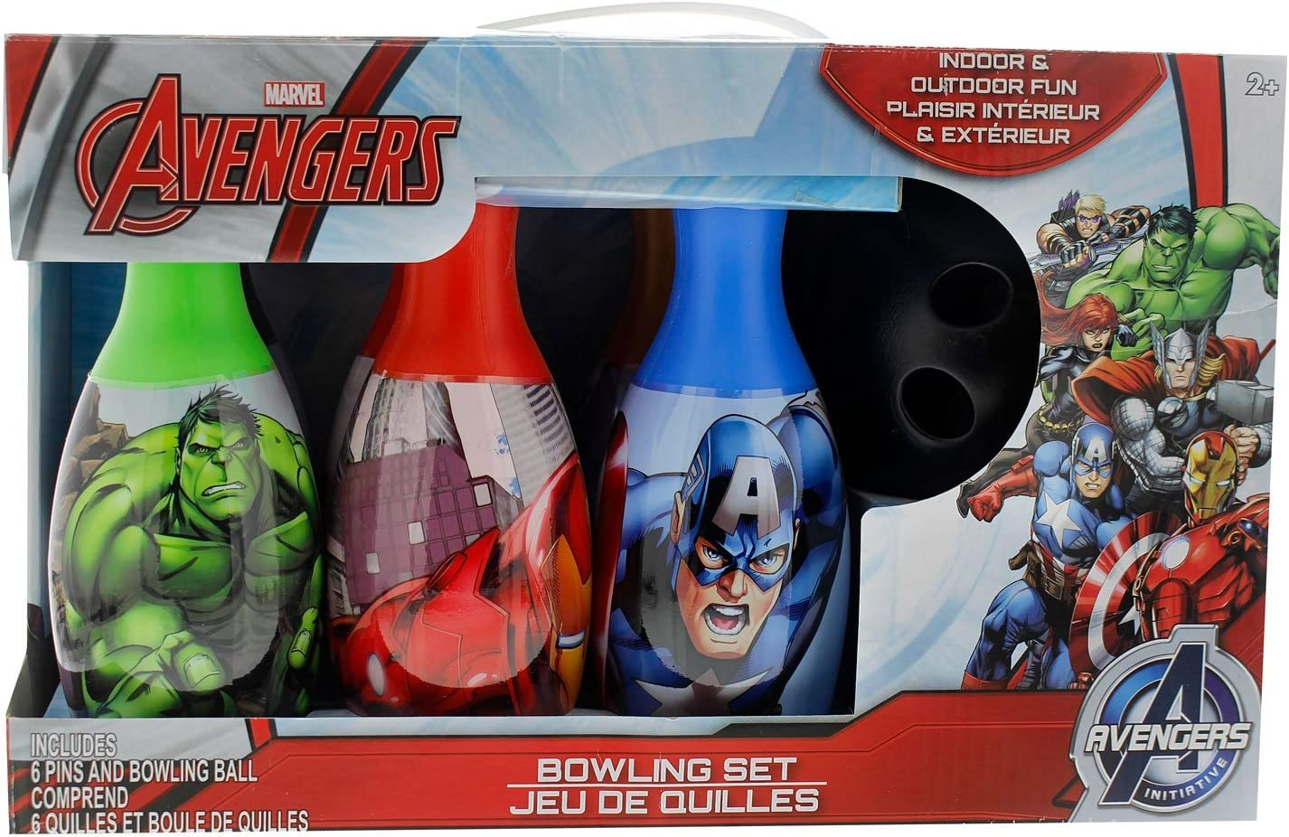 What Kids Want Avengers Bowling Set