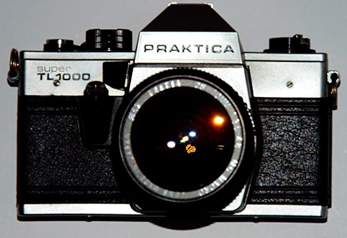Praktica super tl1000 pentacon made in gdr analoge slr camera