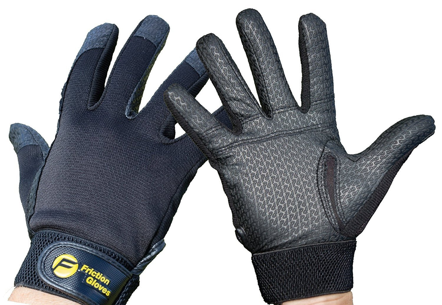Friction Gloves Friction Ultimate Frisbee Gloves - #1 World's Ultimate Glove. Improve Throws & Catches (Men's XXL)