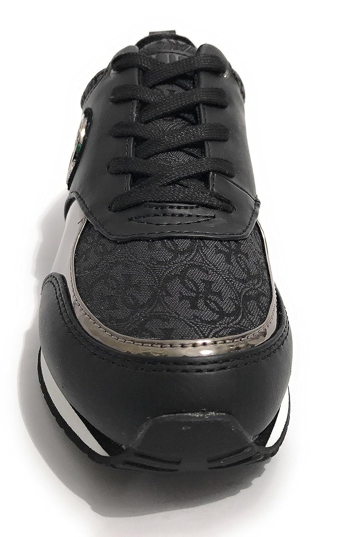 Guess Reeta black lady Chaussures mode ville Noir