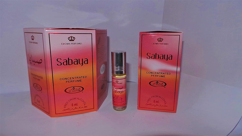 Al Rehab Sabaya Box of 6 x 6ml Perfume Oil: Amazon.co.uk: Beauty